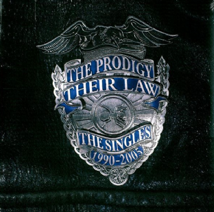 Prodigy (The) - Their Law: The Singles 1990-2005 (LP) (180g Silver Vinyl) (M/M) (Sealed)